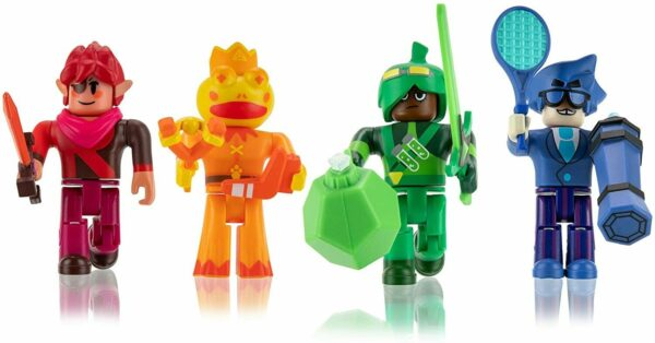 Roblox - 4 Figurer Polyhex Wheatlies - Super Doomspire