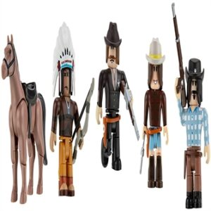 Roblox - Action Collection - The Wild West Five Figure Pack