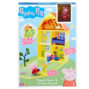 Peppa Pig Home and Garden Playhouse
